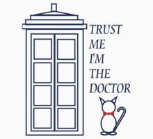 Trust Me I'm The Doctor  Kids Tee