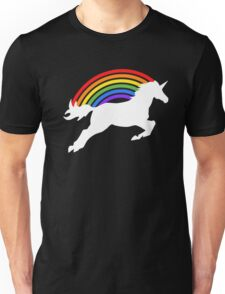 Retro Rainbow Unicorn Unisex T-Shirt