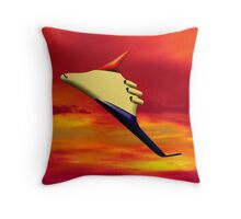 Blended Wing  - pillow & tote Throw Pillow