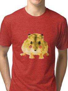 Realistic Pikachu Tri-blend T-Shirt