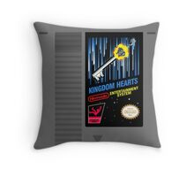 Kingdom Hearts NES Cartridge Throw Pillow