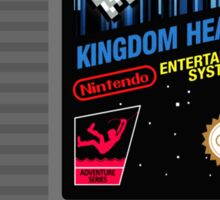Kingdom Hearts NES Cartridge Sticker