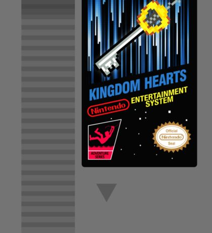 Kingdom Hearts NES Cartridge Sticker