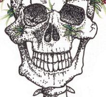 Green Gardens (with words) Sticker