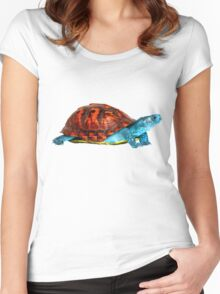 Realistic Squirtle Women's Fitted Scoop T-Shirt