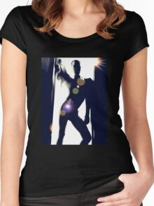 Shadowed Women's Fitted Scoop T-Shirt