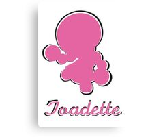 Toadette Canvas Print
