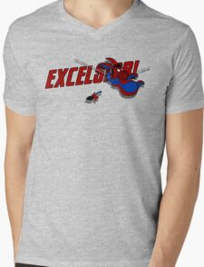 EXCELS-EEYORE! Mens V-Neck T-Shirt