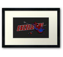 EXCELS-EEYORE! Framed Print
