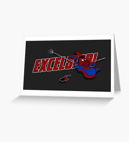 EXCELS-EEYORE! Greeting Card