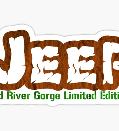 Red River Gorge Jeep Sticker