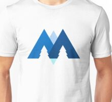 Mountains, Trees & Water Unisex T-Shirt