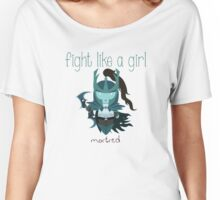 Fight Like a Girl - Ghost Assassin Women's Relaxed Fit T-Shirt