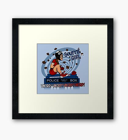 Souffle Girl Framed Print