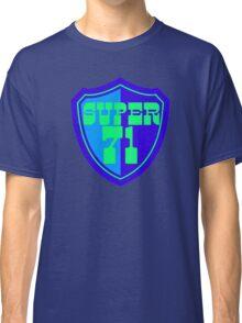 Super 71 - Shield - Blue Classic T-Shirt