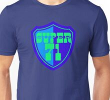 Super 71 - Shield - Blue Unisex T-Shirt
