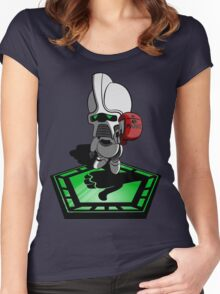 The Hitchhiker's Guide to the Galactica Women's Fitted Scoop T-Shirt