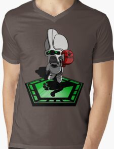 The Hitchhiker's Guide to the Galactica Mens V-Neck T-Shirt