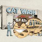 Cat Wash by Eric Fan