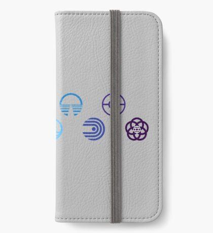 EPCOT Center Logos iPhone Wallet/Case/Skin