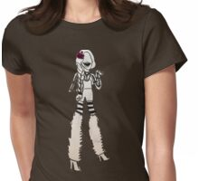 Halloween lady Womens Fitted T-Shirt