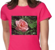 Late Summer Rose Womens Fitted T-Shirt