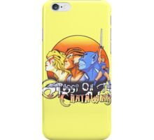 ThunderCats On The Chain Wax iPhone Case/Skin