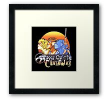 ThunderCats On The Chain Wax Framed Print