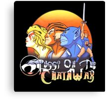 ThunderCats On The Chain Wax Canvas Print