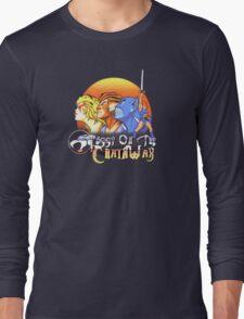 ThunderCats On The Chain Wax Long Sleeve T-Shirt