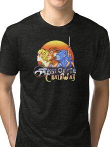 ThunderCats On The Chain Wax Tri-blend T-Shirt