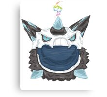 Pokemon-Mega Glalie  Canvas Print