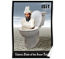 Islamic State of the Inner Toilet Poster