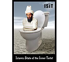 Islamic State of the Inner Toilet Photographic Print