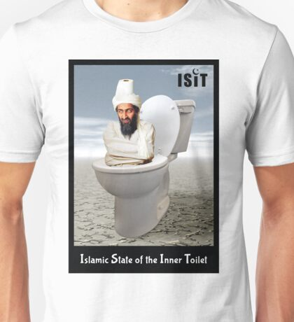 Islamic State of the Inner Toilet Unisex T-Shirt