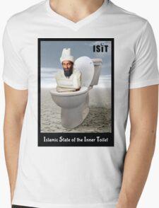 Islamic State of the Inner Toilet Mens V-Neck T-Shirt