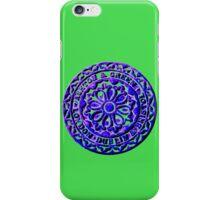 Coalhole cover - large blue logo iPhone Case/Skin