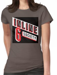 Inline 6 Society - Design #4 Womens Fitted T-Shirt