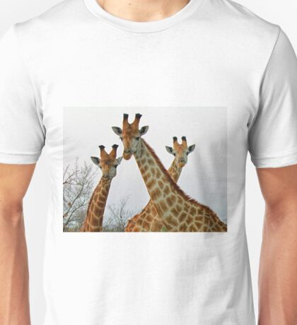 A Trio Of Giraffes! Unisex T-Shirt