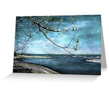 Barrier Beach - Old Woman Creek Greeting Card