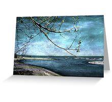 Barrier Beach - Old Woman Creek Greeting Card