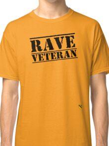 Rave Veteran - Black Classic T-Shirt
