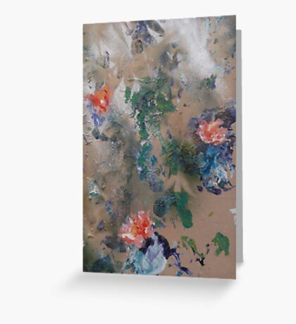 Japonica by 'Donna Williams' Greeting Card