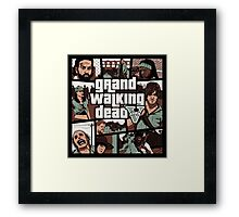 Grand Walking Dead Framed Print