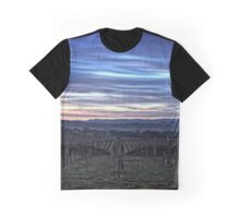 HDR Sunrise behind Holt/Canberra/ACT Graphic T-Shirt