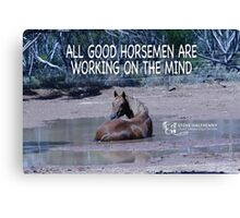 All Good Horsemen Canvas Print
