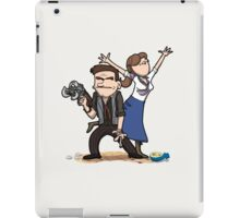 You know what, keep the girl. Dept is gone. iPad Case/Skin