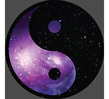 Galaxy Yin Yang Photographic Print