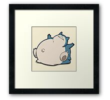 Number 143 Framed Print