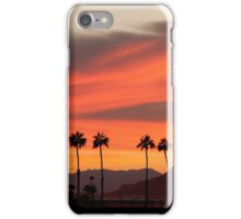 Spring Sunrise in the Desert Southwest. (VIew Large) iPhone Case/Skin